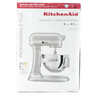 KitchenAid Pro Metallic Chrome 5 Plus Bowl-Lift Stand Mixer