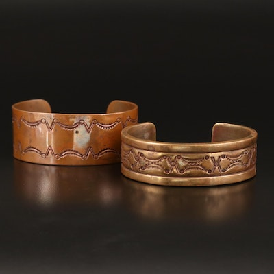 Frank Patahia Jr Anglo Patterned Cuffs