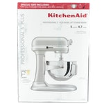 KitchenAid Metallic Chrome Pro 5 Plus Bowl-Lift Stand Mixer