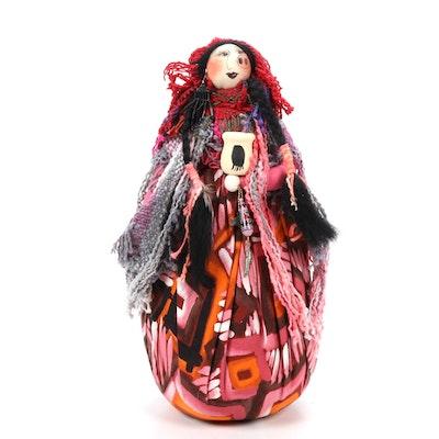 Gretchen Lima Fiber Art Doll, 1993