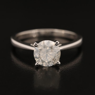14K 2.20 CT Diamond Solitaire Ring