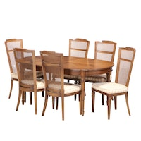 Seven-Piece Modernist Dining Set, Mid to Late 20th Century