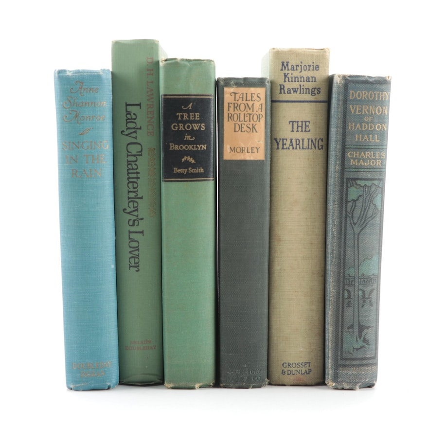 """First Edition """"Dorothy Vernon of Haddon Hall"""" and More Fiction Books"""