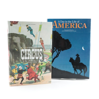 "First Editions ""The Circus, 1870s - 1950s"" and ""A Day in the Life of America"""