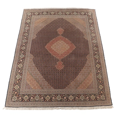 8'4 x 11'10 Hand-Knotted Persian Bijar Wool Area Rug