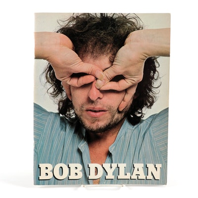 Ivy Hills Bob Dylan Concert Tour Program, 1978
