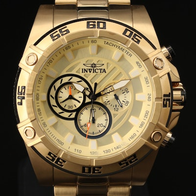 Invicta Speedway Stainless Steel Wristwatch