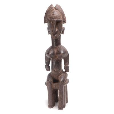 Bamana Style Wood Figure, Mali