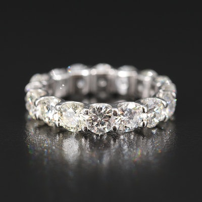 Platinum 6.09 CTW Diamond Eternity Band