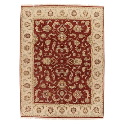 9'1 x 12'7 Hand-Knotted Pakistani Persian Tabriz Room Sized Rug, 2000s