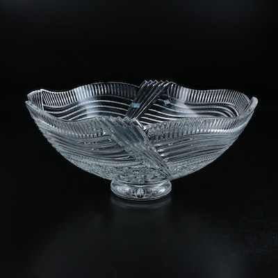 "Waterford Crystal ""Spirit of America"" Centerpiece Footed Bowl, 2002–2003"