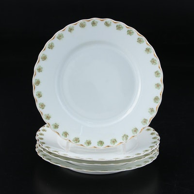 Haviland & Co. Bone China Bread and Butter Plates, Late 19th to Early 20th C.