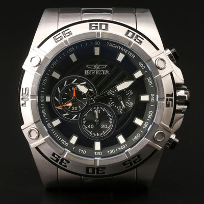 Invicta Speedway Stainless Steel  Quartz Wristwatch