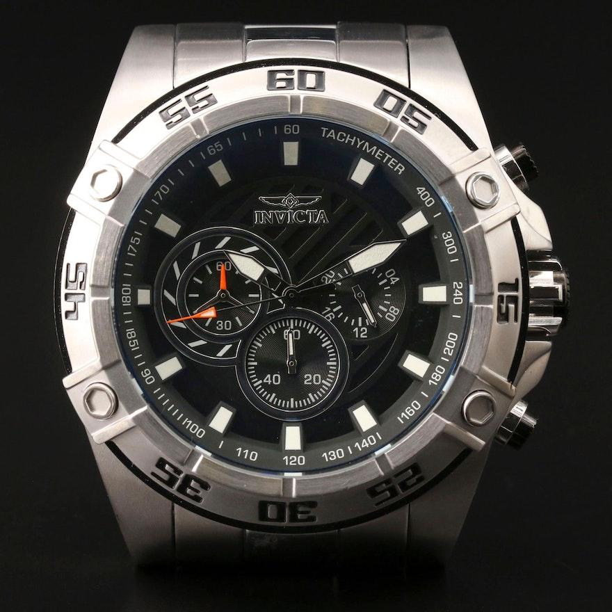 Invicta Speedway Stainless Steel  Quartz Wristwatch