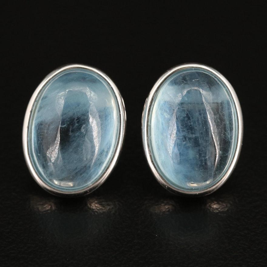 Sterling Silver Beryl Earrings