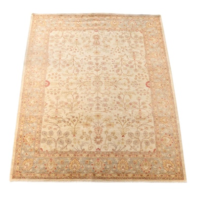 8'2 x 10'1 Hand-Knotted Pakistani Wool Area Rug from The Rug Gallery