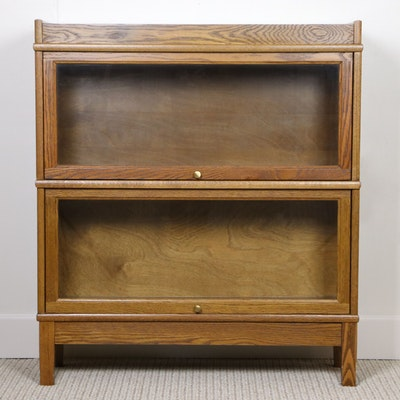 Levenger and Hale Oak Barrister's Bookcase, Mid to Late 20th Century