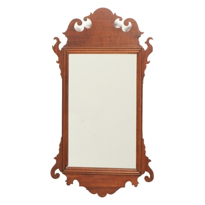 Chippendale Style Mahogany Mirror, Late 19th/Early 20th Century