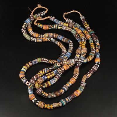 Ghanaian Fancy Krobo Trade Beads