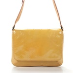Louis Vuitton Thompson Street Shoulder Bag in Mango Monogram Vernis Leather