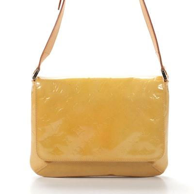 Louis Vuitton Thompson Street Shoulder Bag in Mango Monogram Vernis Leather