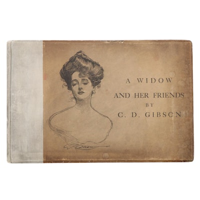 "First Edition ""A Widow and Her Friends"" Drawn by Charles Dana Gibson, 1901"