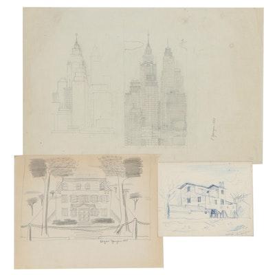 Edgar Yaeger Architectural Studies, 1935 - 1983