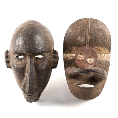 Bamana Style and Bete-Guere Inspired Masks, West Africa