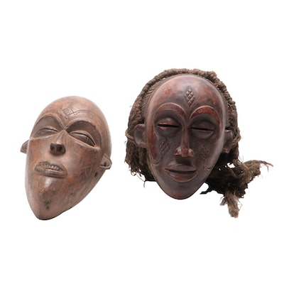 Chokwe Inspired Wood Mask, Central Africa