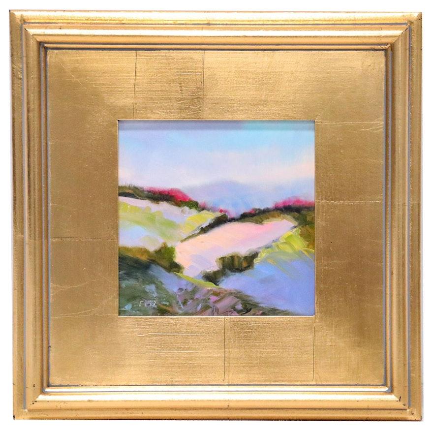 Charlotte Fitzgerald Landscape Oil Painting