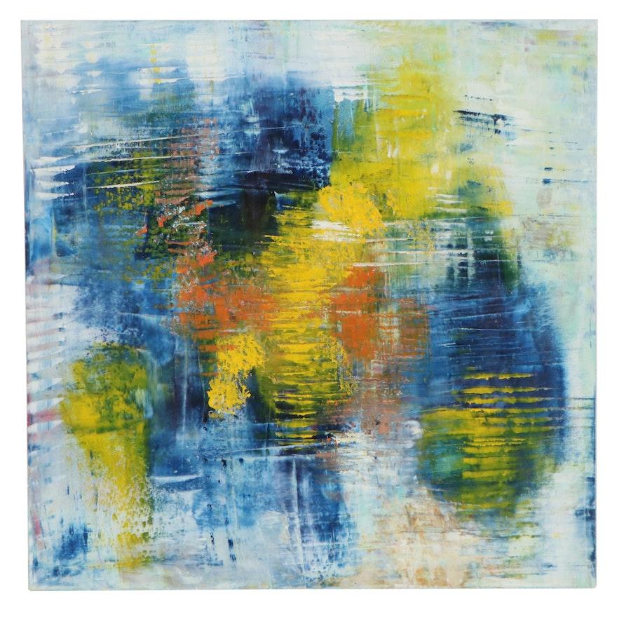 Dottie Abramowski Abstract Oil Painting, 2020