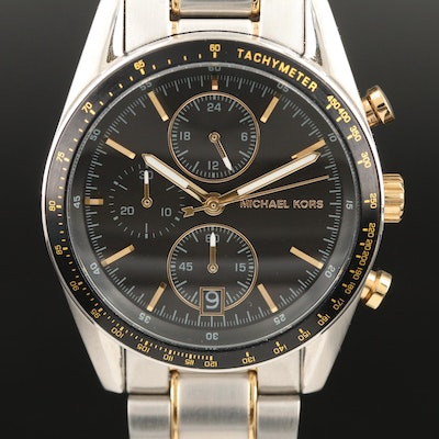 "Michael Kors ""Accelerator"" Quartz Wristwatch"