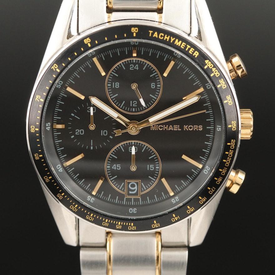 "Michael Kors ""Accelerator"" Quartz Wristwatch"