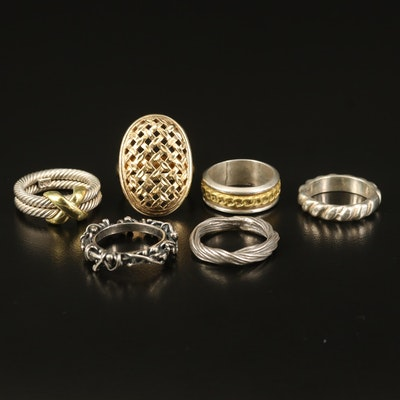 Sterling Rings and Stackable Bands