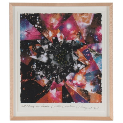 "James Rosenquist Giclée ""All Things Are Devoid of Intrinsic Existence,"" 2013"