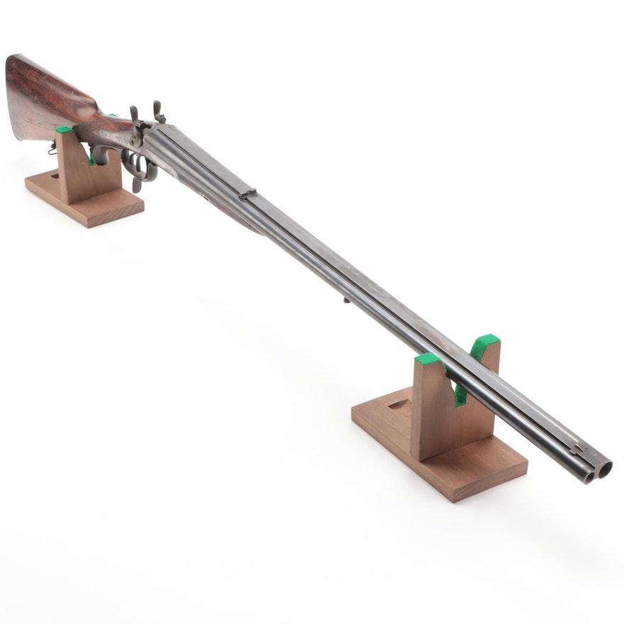 F. Bauernfeind Heidelberg Shotgun/Rifle Side by Side