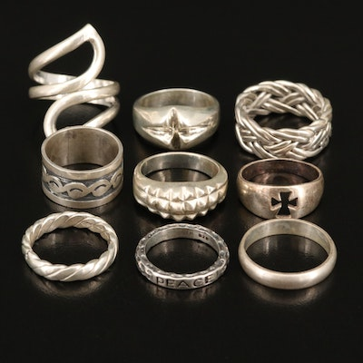 Sterling Rings and Bands