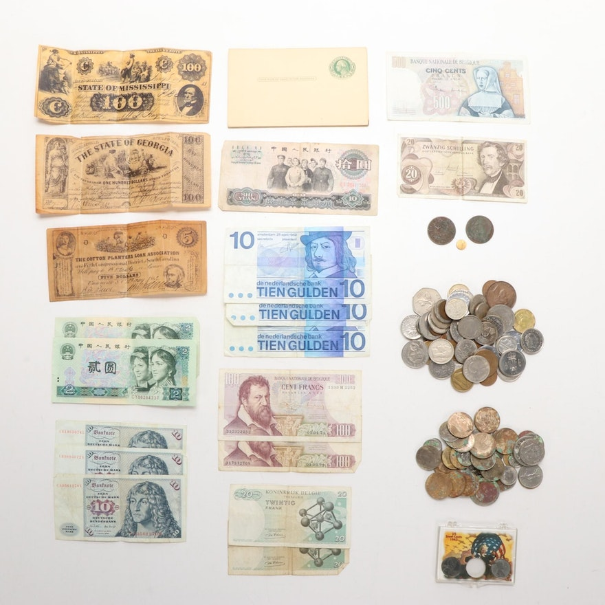 Foreign Coins and Other Forms of Currency