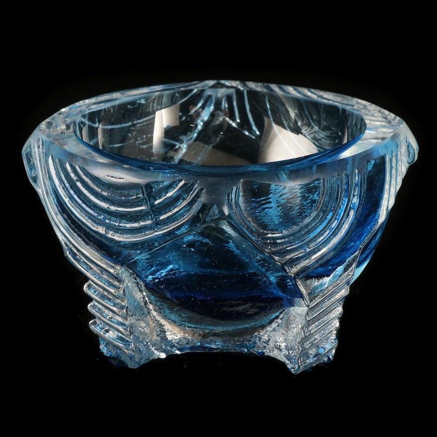 "Michael Mikula Glass Sculpture ""Cube Cup Luminaria,"" 21st Century"