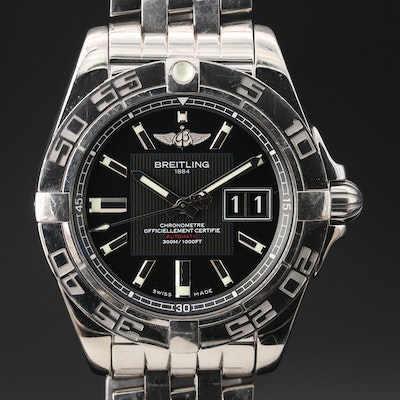 Breitling Galactica 41 Stainless Steel Automatic Wristwatch