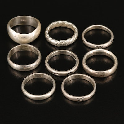 Mexican Sterling Silver Bands