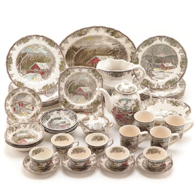 "Johnson Bros. ""The Friendly Village"" Dinnerware and Serveware"