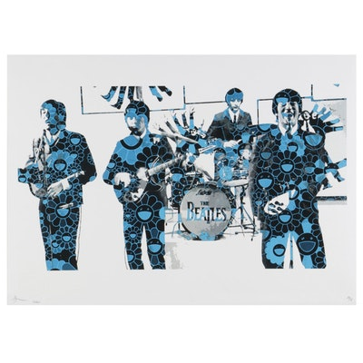 Death NYC The Beatles Pop Art Graphic Print, 2020
