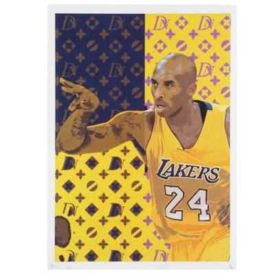 Death NYC Kobe Bryant Pop Art Graphic Print, 2020