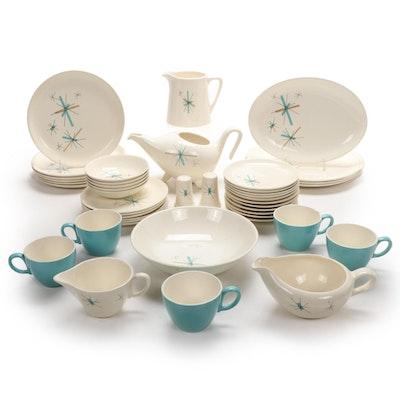 "Salem ""North Star"" Ceramic Dinnerware and Table Accessories, Mid-20th Century"