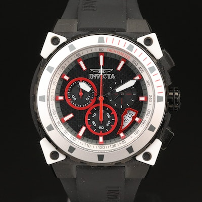 "Invicta ""S1 Rally"" Chronograph Wristwatch with Case"