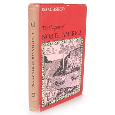 """UK Edition """"The Shaping of North America"""" by Isaac Asimov, 1974"""