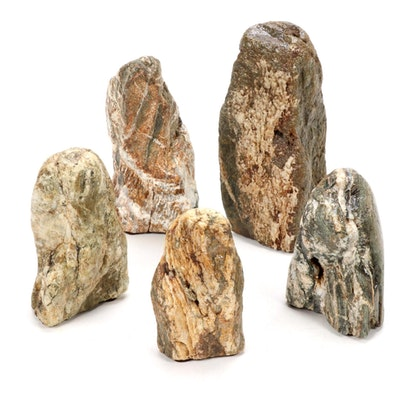 Chinese Scholar Stones and Other Mineral Specimens