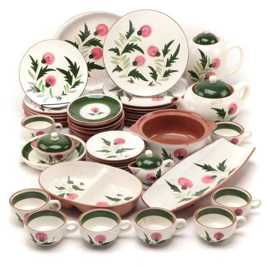 "Stangl Pottery ""Thistle"" Ceramic Dinnerware and Serveware, 1951–1978"