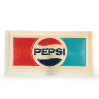 Large Pepsi Wall Mount Sign